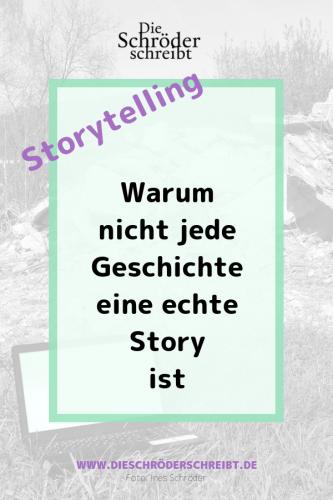 Storytelling - Was ist eine Story?