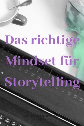 Mindset für Storytelling