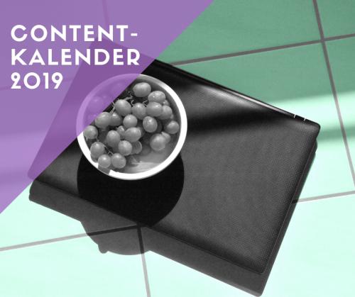 Content-Kalender 2019