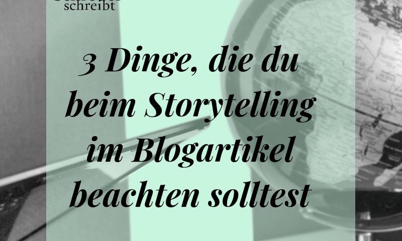 Storytelling im Blogartikel
